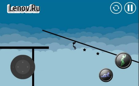 Stickman Parkour Platform v 3.0 Мод (invincible)