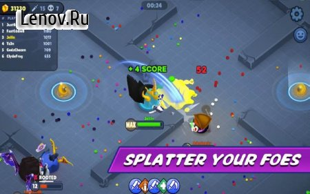 Jellynauts v 1.0.4 Мод (Damage Mod 3x/Health Increases 1.5x/Speed Mod 1.5x)