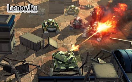 Tank Battle Heroes: Modern World of Shooting, WW2 v 1.17.6 (Mod Money)