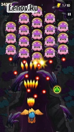 Chicken Shoot Blaster: Alien Invaders Shooter v 1.0.3 (Mod Money)