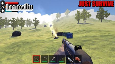 Just Survive Ark: Raft Survival Island Simulator v 2.5 Мод (Free Shopping)