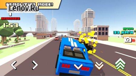 Blocky Car Racer v 1.07 Мод (Unlocked)