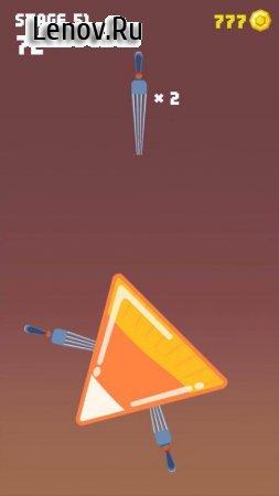 Knife Up! (обновлено v 1.0.7) Мод (много денег)