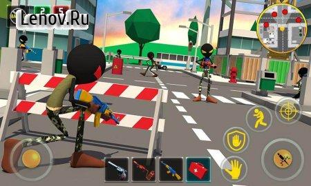 Stickman Battle Royale : Grand War v 2.1 (Mod Money)