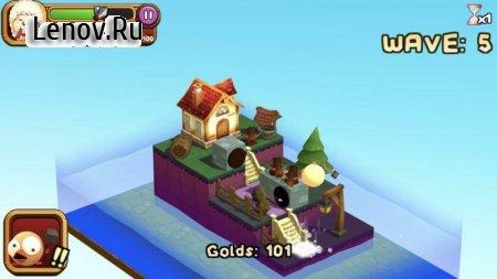 3D TD: Chicka Invasion v 1.5.0 (Mod Money)