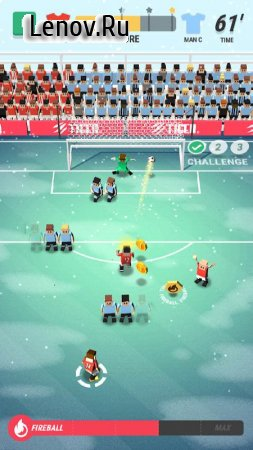 Tiny Striker: World Football v 1.3.1 (Mod Money)