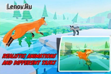 Fox Simulator Fantasy Jungle v 5.2 (Mod Money)