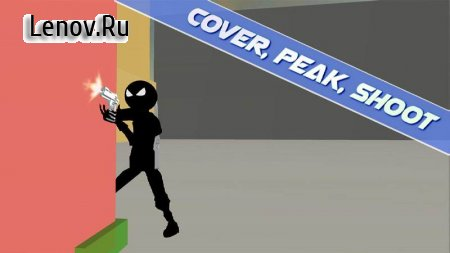 Stickman Shooter: Cover Fire v 1.4 (Mod Money)