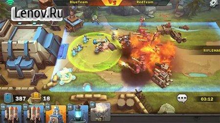 Battle Boom (обновлено v 1.0.8) Мод (много денег)