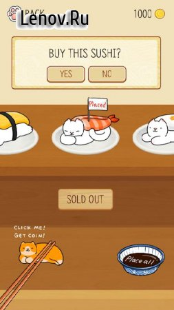 Neko Sushi v 1.32 (Mod Money)