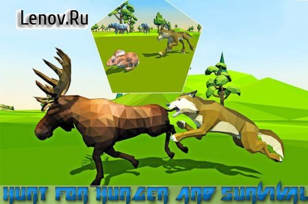 Wolf Simulator Fantasy Jungle v 5.2 (Mod Money)