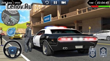 Crime City - Police Car Simulator v 1.6  Мод (Free Shopping)