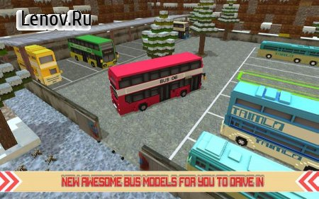 City Bus Simulator Craft Inc. v 1.2 Мод (Free Shopping)