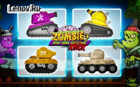 Zombie Survival Games: Pocket Tanks Battle v 3.62 (Mod Money)