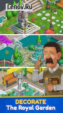Royal Garden Tales - Match 3 Castle Decoration v 0.9.1 (Mod Money/Unlimited Life/Dust)