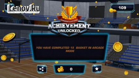 Slam Dunk Real Basketball - 3D Game v 30 (Mod Money)