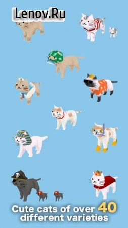 Cats and Sharks: 3D game (обновлено v 1.39) (Mod Money)