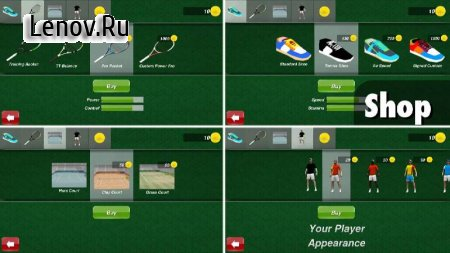 Tennis Champion 3D v 1.4 (Mod Money)