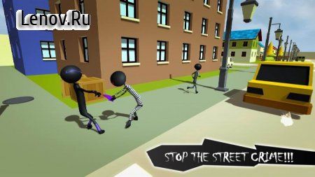 Stickman Crime City Escape v 1.0.1 Мод (Unlocked)