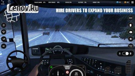 Truck Simulator PRO Europe (обновлено v 1.1) Мод (полная версия)