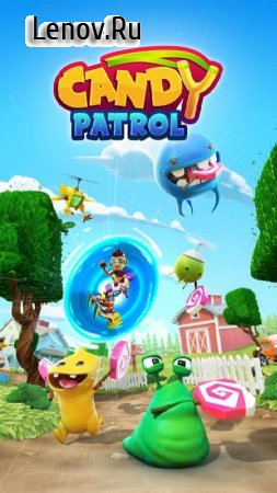 Candy Patrol v 2.2.5 Мод (1 HIT KILL/Unlimited Life/Coin/Booster)