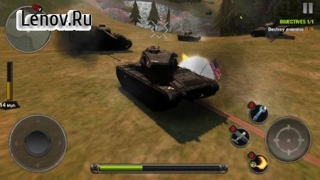 Tanks of Battle: World War 2 v 1.32 Мод (Free Shopping)
