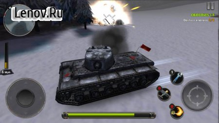 Tanks of Battle: World War 2 v 1.32 Мод (Free Shopping)
