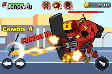 Stick soldier - Revenger - stickman warriors v 1.1.6 (Mod Money)