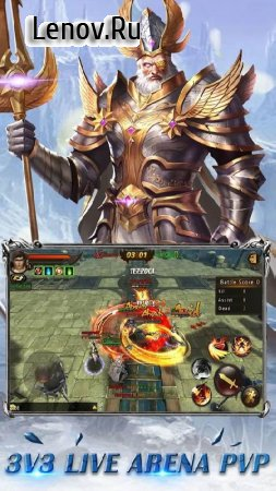 Fantasy Blade v 1.4.3 Мод (ATTACK/DEFENSE Multiplier/No Skill Cooldown)