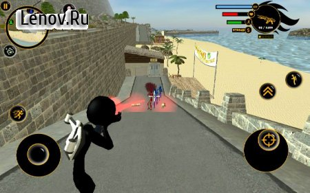 Real Stickman Crime v 2.4 (Mod Money)