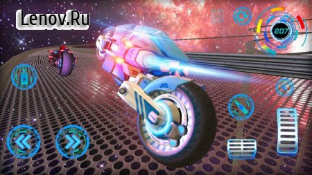Space Bike Galaxy Race v 1.0.1 (Mod Money)