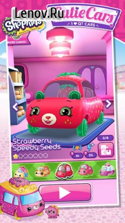 Shopkins: Cutie Cars v 1.1.8 (Mod Money)