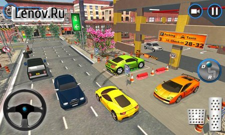 Car parking school 2018: multi-level car v 1.0.1 (Mod Money)