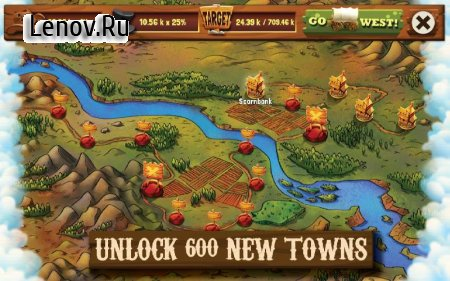 Wild West Idle Tycoon Tap Incremental Clicker Game (обновлено v 1.5.2) (Mod Money)