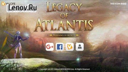 Legacy of Atlantis : Beginning of Division v 1.0.55 Мод (Attack/Defense/Movement Speed Multiplier)
