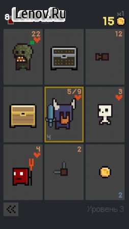 Dungeon Cards v 1.0.177 Мод (Infinite Gold)