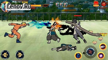 Ninja shinobi Ultimate battle Storm v 1.38 (Mod Money)