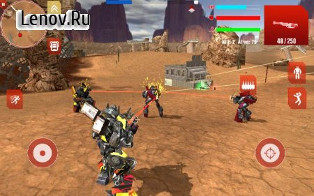 Royal Robots Battleground v 1.4 Мод (Unlocked/Ads-free)