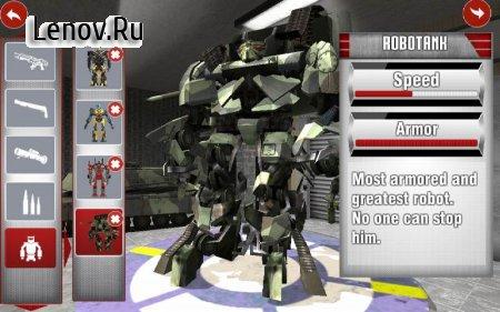 Royal Robots Battleground v 1.0 Мод (Unlocked/Ads-free)