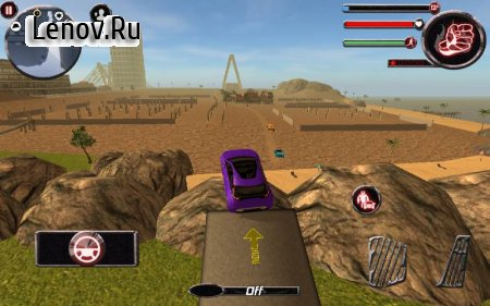 Robocar X Ray v 1.0 Мод (Large number of levels/skill points)
