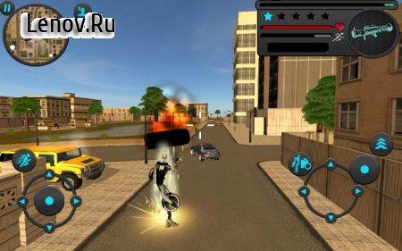 Robot Moto Revenge v 1.0 Мод (Large number of levels/skill points)