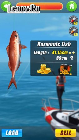 Wild Fishing Simulator v 2.1.0 (Mod Money)
