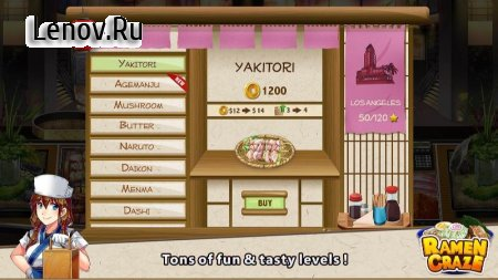 Ramen Craze - Fun Kitchen Cooking Game v 1.0.4 (Mod Money)