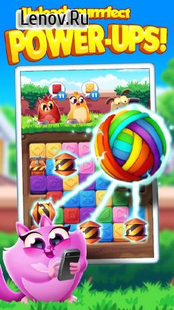 Cookie Cats Blast v 1.28.6 Мод (Unlimited Lives/Coins/Moves)