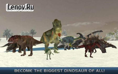 The Last Dinosaurs : Urban Destroyer v 1.2 (Mod Money)