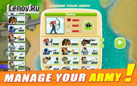 Army of Soldiers : Worlds War v 14 Мод (Energy/Soldiers)