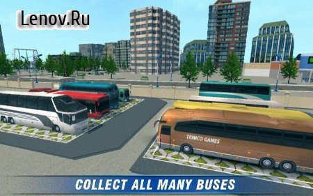 City Bus Coach SIM 2 v 1.6 Мод (Unlocked/Ads-free)