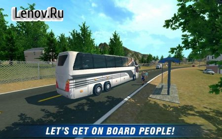City Bus Coach SIM 2 v 1.6 Мод (Unlocked/Ads-free)