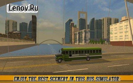 High School Bus Driver 2 v 1.9 Мод (Unlocked/Ads-free)