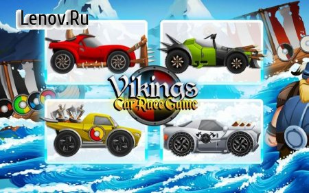 Viking Legends: Funny Car Race Game v 3.3.1 (Mod Money)